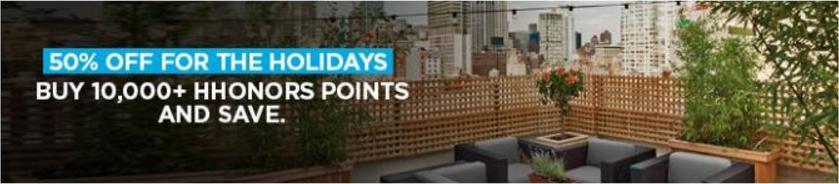 hilton-hhonors-points-sale-50off