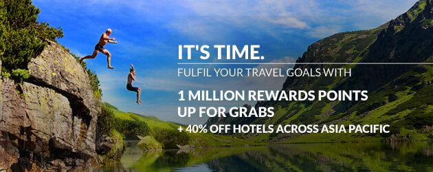 Accorhotels雅高优惠活动:雅高亚太区酒店促销,最高50%折扣,还有百万积分抽奖(2017/2/26前)