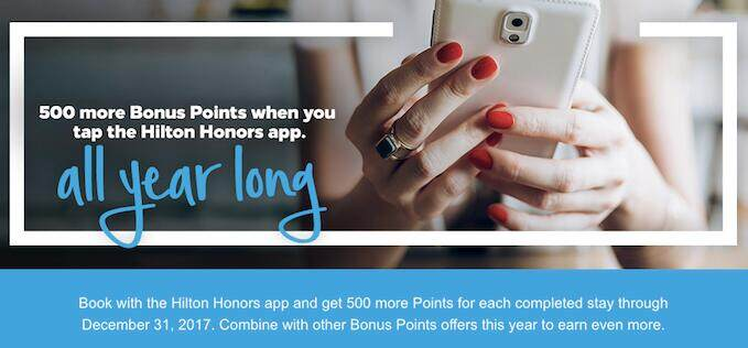 hilton-honors-mobile-app-500-bonus-points-per-stay