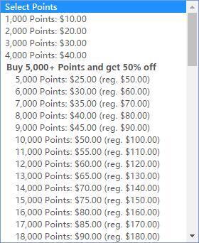 Hilton希尔顿卖分活动:Hilton Honors荣誉客会买分促销,购买积分5折优惠(2017/10/5前)