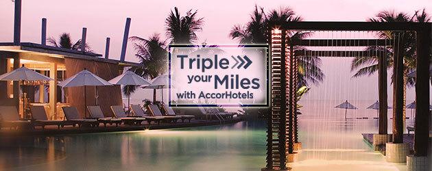 Accorhotels雅高里程活动:入住雅高集团酒店可获3倍新加坡航空KrisFlye里程奖励(2018/1/31)
