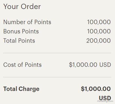 IHG洲际卖分促销:通过官网购买积分享额外100%奖励,PointBreaks成本最低每晚(2019-3-23前)