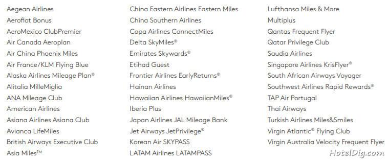 Marriott万豪攻略:万豪公布新万豪大礼包(TRAVEL PACKAGES)兑换表,航空里程贬值,7晚免房券升值