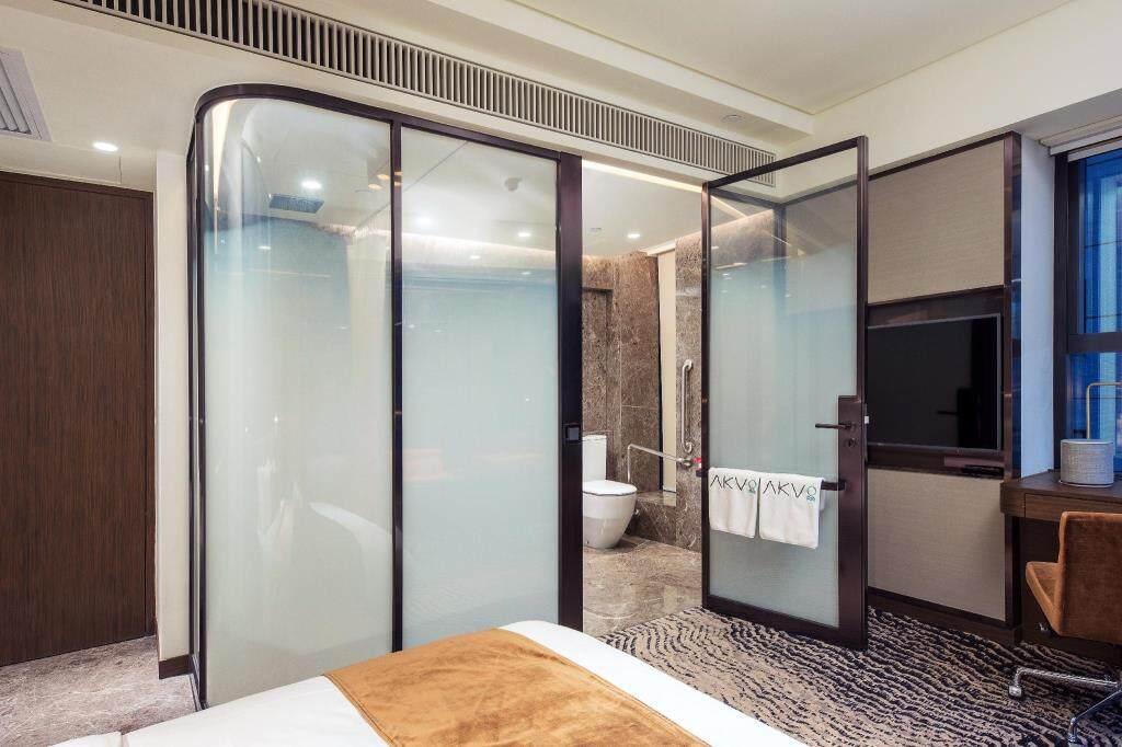 香港酒店推薦:香港 AKVO Hotel,2018年6月新開業,上環高性價比精品酒店