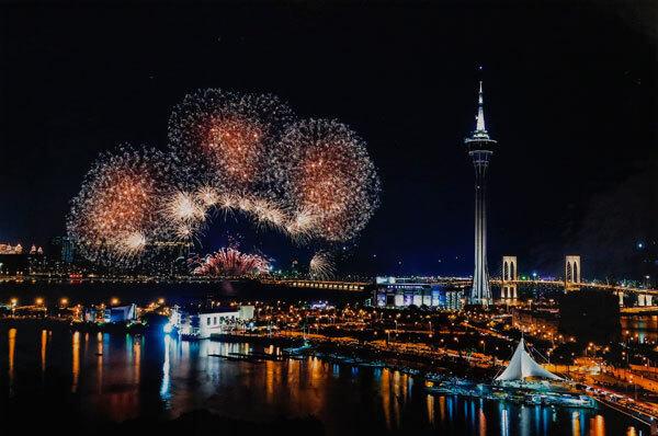 2019澳门国际烟花比赛汇演,节目表、最佳观赏位置、餐厅和酒店推荐