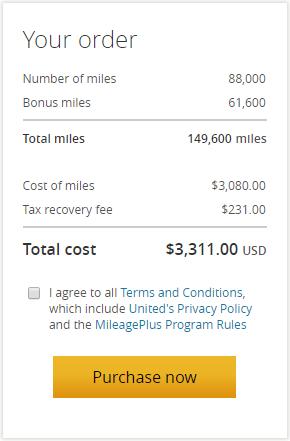 美联航里程促销:购买UA里程(MileagePlus)享70%奖励优惠(2018-10-16前)