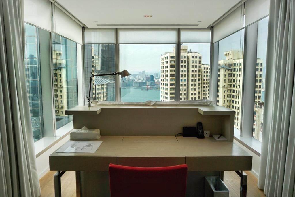 香港网红酒店:香港第二十一威菲路酒店,拥3面落地窗房间,铜锣湾全海景拍照酒店