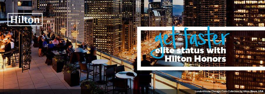 Hilton希尔顿攻略:希尔顿金卡、钻卡挑战(Fast Track)快速升级活动汇总