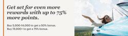 IHG洲际卖分促销:通过官网购买积分享额外75%奖励,PointBreaks成本最低$28.57每晚(2019-2-28前)