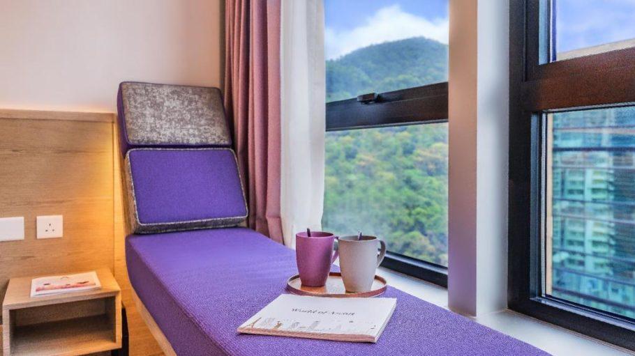 香港新酒店:香港紫亭酒店(Hotel Purple Hong Kong) - 价格实惠的铜锣湾公寓式酒店