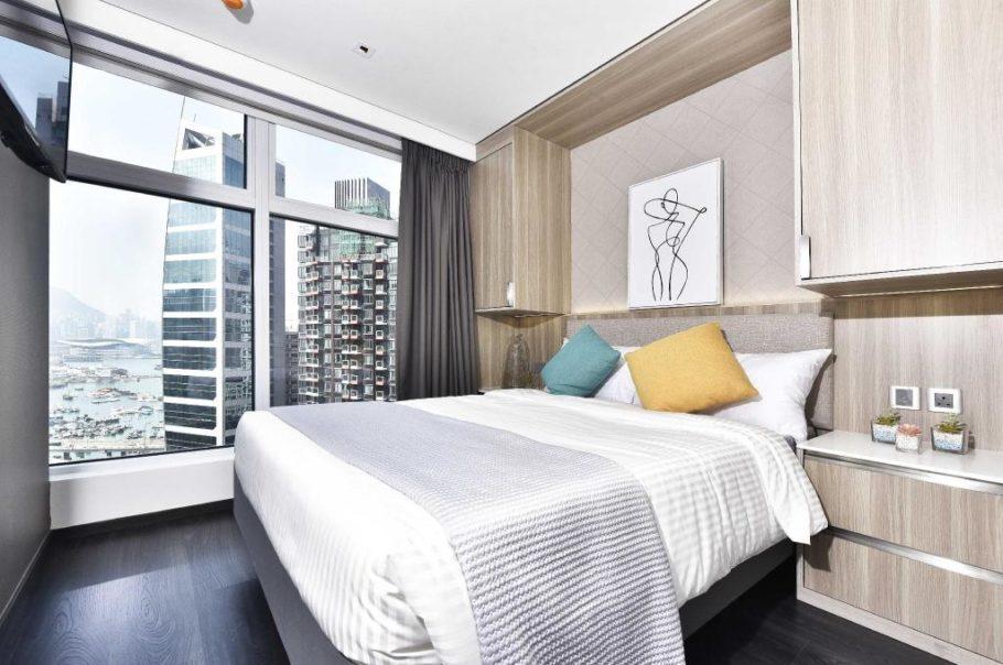 香港新酒店:The Mercury - 位于港岛区天后,房间面积很大的公寓式酒店