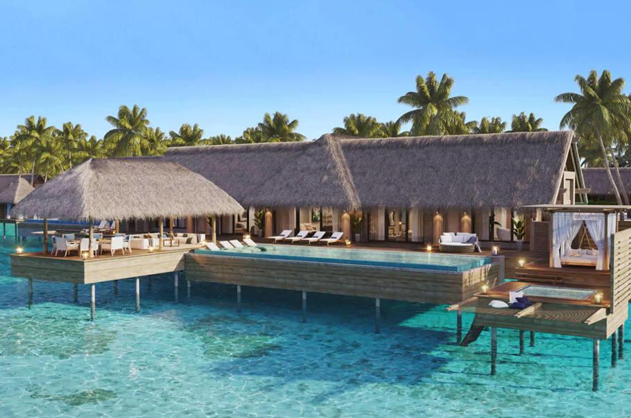 希尔顿新酒店:马尔代夫华尔道夫度假村(Ithaafushi岛),积分兑换成本最低0美元/晚