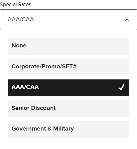 酒店协议代码:AAA 协议价详细介绍,万豪、希尔顿、IHG、凯悦通用