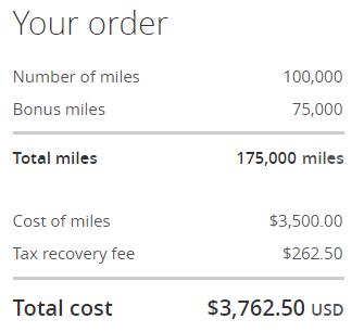美联航里程促销:通过官网购买UA里程享额外最高75%奖励(2019-7-12前)