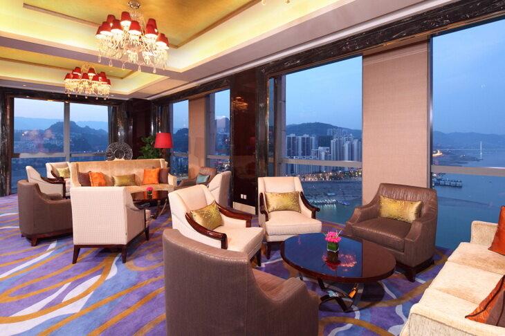 重庆万州富力希尔顿逸林酒店,积分兑换住宿成本仅需美元(1万分)
