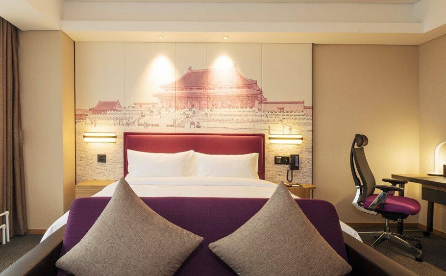 北京房山希尔顿欢朋酒店,积分兑换住宿成本仅需美元(1万分)