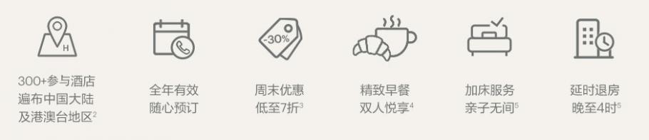 IHG优惠活动:大中华区金卡、白金卡、至悦及洲际大使会员享周末7折优惠(2020-7-19前)