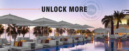 万豪2019年Q4活动:Unlock More,前2次入住获2000积分奖励,之后解锁新任务(2019-12-31前)