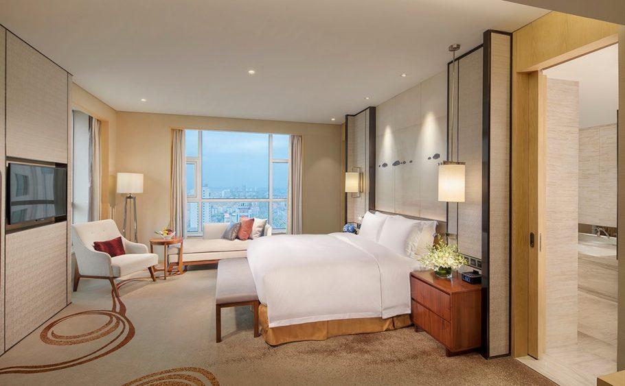 青岛即墨希尔顿逸林酒店,积分兑换预订成本仅需美元(1万分)