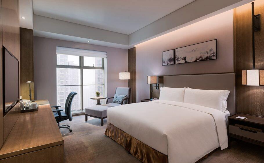 十堰希尔顿逸林酒店,积分兑换预订成本仅需美元(1万分)