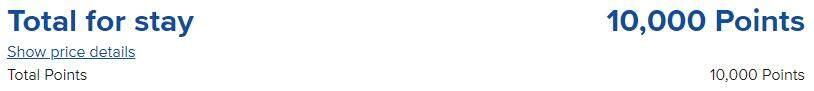 佛山三水希尔顿欢朋酒店,积分兑换预订成本仅需美元(1万分)