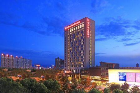 西安阳光城希尔顿花园酒店,积分兑换预订成本仅需$50美元(1万分)