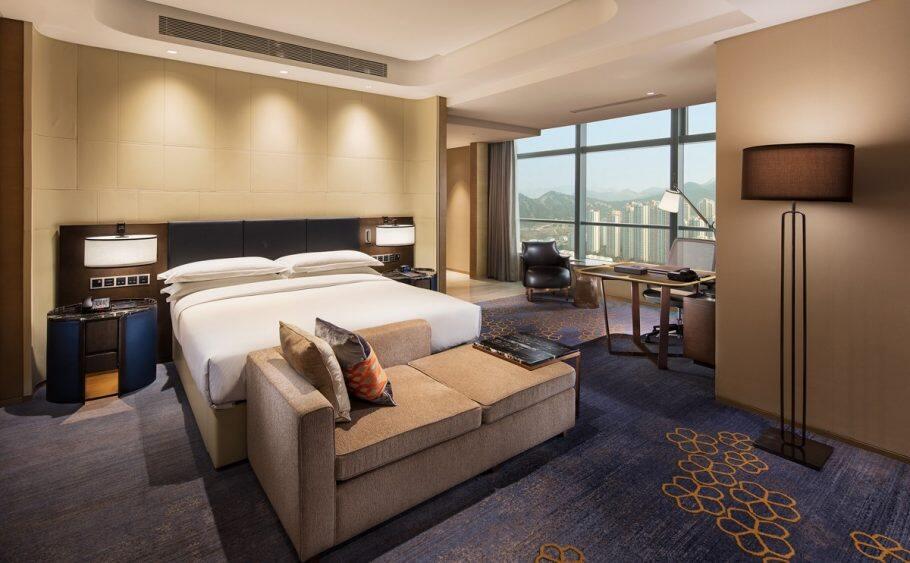 济南鲁能希尔顿酒店及公寓,积分兑换预订成本仅需美元(1万分)