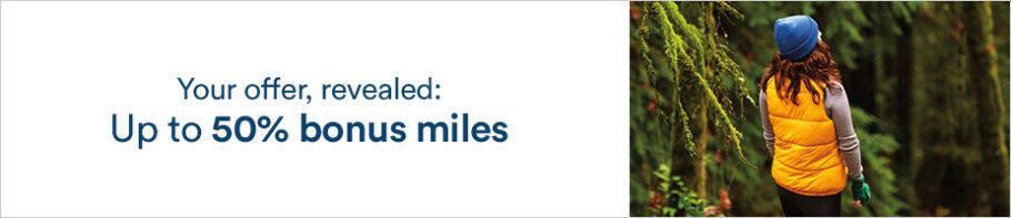 阿拉斯加航空賣點促銷:通過官網購買Mileage Plan里程享額外最高50%獎勵(2020-11-1前)